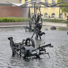 The Tinguely Fountain in Basel, Switzerland. Basel, Option B, Travel Abroad, Switzerland, Fountain, Jean Tinguely, Europe, Tours, Big Big