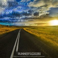Out in the World Alone | Runner's World - And this is why I run