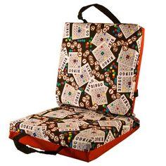 Amazon.com: Bingo Cards #1 Double Cushion - Red: Toys & Games