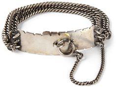 Ann Demeulemeester multiple chains bracelet