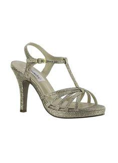 ab7c29a9539 Strappy T-Strap High Heel Sandal 50616 T Strap