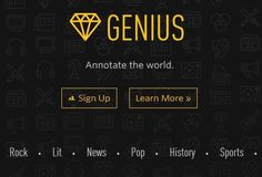Rap Genius Expands Service, Changes Name, Adds Education Features - I'd Still Be Surprised If Teachers Use It