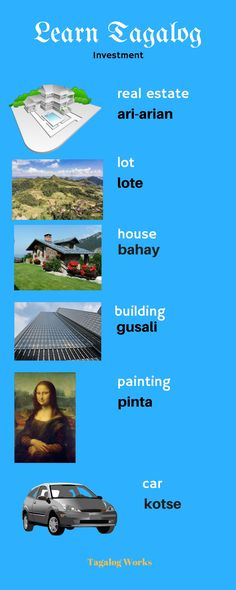 Tagalog Words, Nouns And Pronouns, Pinoy, Filipino, Languages, Vocabulary, Philippines, Investing, It Works