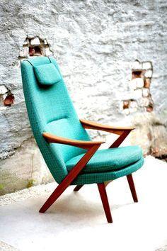 Modern Danish Chair Atomic   Google Search