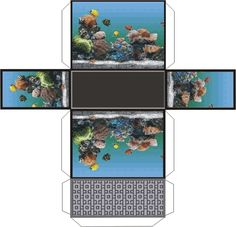 Aquarium but lots of other printies on the page, follow the link