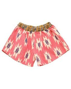 NICO NICO ♥ IKAT FULL SHORTS, CHERRY (8 YEARS)