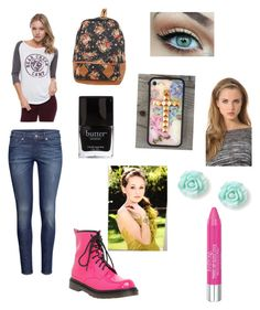 """Kelli Berglund- Bree Davenports outfit"" by summer-love-universe ❤ liked on Polyvore featuring 1&20 Blackbirds, H&M, Isadora, Deepa Gurnani, women's clothing, women's fashion, women, female, woman and misses"