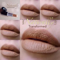 Mac Naturally Transformed Lips