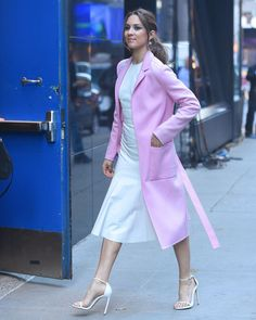 Troian seen outside of Good Morning America in New York City on April 18th, 2017.