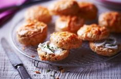 Dairy free Cheese Scones