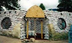 """HowStuffWorks """"How Earthbag Homes Work"""" - Everything you need to know about building an earthbag home"""