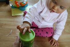 Manual fun for babies, zabawka manualna DIY