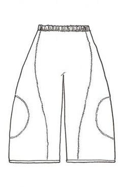 WATERSISTER <3 Sewing Pants, Sewing Clothes, Diy Clothes, Skirt Fashion, Diy Fashion, Clothing Patterns, Sewing Patterns, Mode Cool, Balloon Dress
