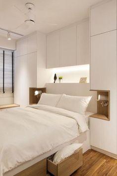 Bedroom Built In Wardrobe, Master Bedroom Interior, Small Master Bedroom, Bedroom Furniture Design, Modern Bedroom Design, Home Room Design, Master Bedroom Design, Home Decor Bedroom, Bedroom Ideas