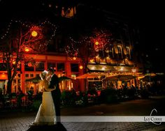 Nighttime shots on Victoria Row - essential for any Charlottetown Wedding. #Charlottetown #PEI #EastCoast #Wedding #VicRow #LenCurrie