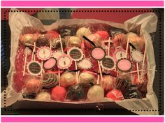 cake pops for bachelorette party