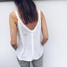 Amandaz Womens Summer Sling Strapless Camouflage Sleeveless V-Neck Slim Top Top Vest