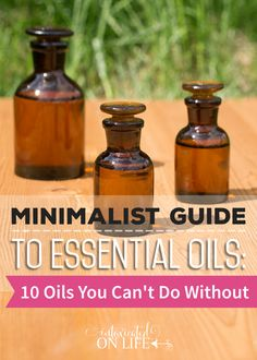 Top 10 Essential Oils You Can't Do Without PLUS a surprise!