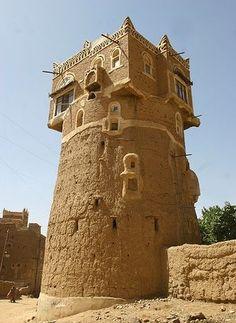 Tower in Wadi Dhar , Yemen