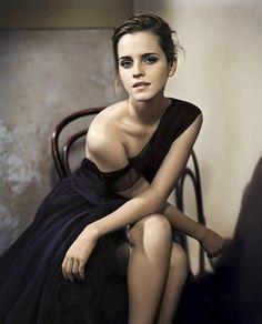 Emma Watson....Glamour UK, October 2012