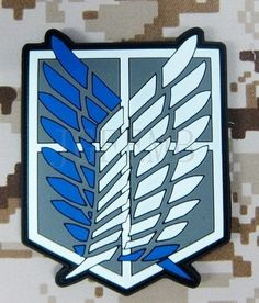 Attack On Titan Recon Corps Wings Patch Titan One Europe