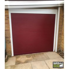 If you're wanting Roller Shutter Doors, our best garage doors in Red are incredibly stylish. Included in our garage door cost is VAT & a full guarantee. Click below to find an electric Roller Door. Red Garage Door, Garage Door Cost, Single Garage Door, Best Garage Doors, Garage Door Makeover, Garage Walls, Roller Doors, Roller Shutters, Electric Rollers