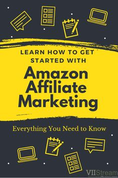 Learn how to get started with Amazon Affiliate Marketing today. Everything you need to know. Creative Business, Business Tips, Amazon Affiliate Marketing, Amazon Associates, Need To Know, How To Make Money, Articles
