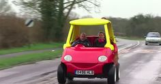 Attitude Autos' real life, drivable Little Tikes toy car is being advertised on eBay.