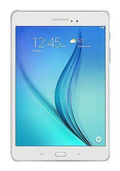 Samsung Galaxy Tab A SM-T350NZ 16GB, Wi-Fi, 8in - White USA