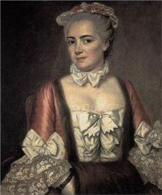Portrait of Marie Francoise Buron - Jacques-Louis David 1769