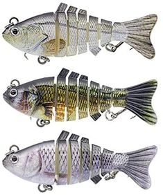 CIBISONG Swimbait Fishing Lures Sinking Lure Hard Fish Hook Simulation Baits 3D Fish Artificial Spinning Tackle