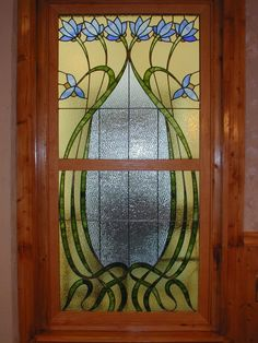 Arts and Crafts Architecture | Hand Made Custom Stained Glass Arts And Crafts Style Window by Castle ...