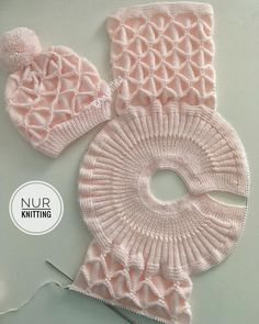 Diy Crafts - knitdress,cocukelbise-Gimme alllllll of the popcorn! Crochet Baby Jacket, Baby Sweater Knitting Pattern, Knit Baby Sweaters, Easy Knitting Patterns, Knitting For Kids, Crochet For Kids, Knitting Stitches, Knitting Designs, Baby Patterns
