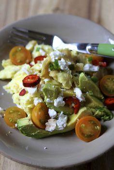 Easy Breakfast Chilaquiles | Eat • Drink • Garden • Santa Barbara, California