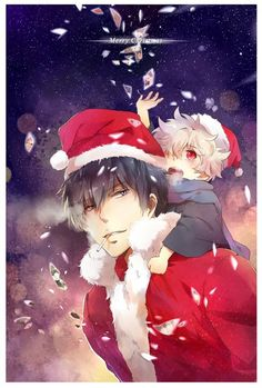 Christmas Anime Girl | Christmas Anime | Pinterest | Anime
