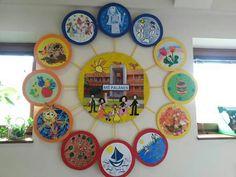 Rok v sd Teaching Science, Art Lessons, Sd, Diy And Crafts, Decorative Plates, Classroom, Seasons, Education, Kid Art