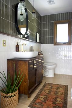 Bathroom Styling, Bathroom Interior Design, Interior Modern, Interior Colors, Midcentury Modern, Modern Furniture, Furniture Design, Bathroom Inspiration, Bathroom Ideas