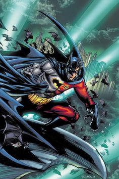 Red Robin (Tim Drake) Battle for the Cowl