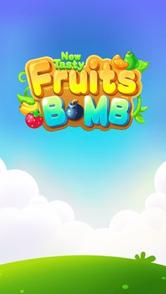 Game Fruit, Mobile Logo, Farm Games, Kids Background, Game Logo Design, Game Title, Cartoon Logo, Free Android Games, Dimples