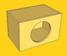 subwoofer box design for 12 inch Diy Subwoofer, Subwoofer Box Design, Car Speaker Box, Boom Boom, Google
