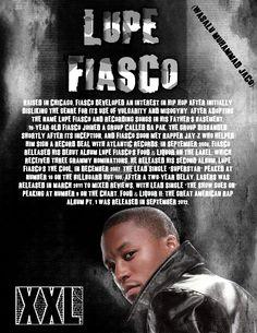 Lupe Fiasco bio for my Summer Jam XXL magazine.