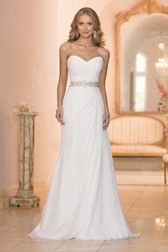Wedding Dress: Stella York - www.stylemepretty.com/lookbook/designer/stella-york/ View entire slideshow: Dresses Under $1000 on http://www.stylemepretty.com/collection/867/