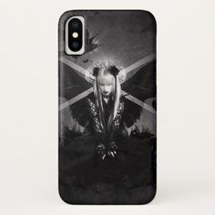 Dark Witches iPhone X Case - metal style gift ideas unique diy personalize