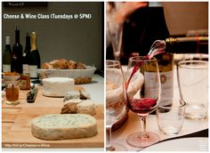 Every Tuesday from 5-7PM, enjoy & learn about several great French cheeses paired with French wines at @cooknwithclass.com www.cooknwithclass.com