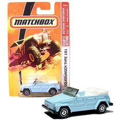Matchbox Year 2008 MBX Outdoor Sportsman 1:64 Scale Die Cast Metal Car # 93   Light Blue Compact Convertible Sport Utility Vehicle SUV Volkswagen Type 181 aka the Trekker or the Thing. #Matchbox #Year #Outdoor #Sportsman #Scale #Cast #Metal #Light #Blue #Compact #Convertible #Sport #Utility #Vehicle #Volkswagen #Type #Trekker #Thing