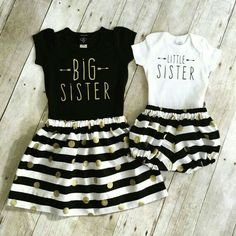 Big & lil sis outfit