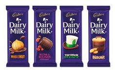 Pearlfisher have created a new brand world for Cadbury Dairy Milk that spans brand strategy, identity creation, packaging design and brand guidelines. - via: thedieline.com
