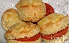Английские сырные сконы (Scone)    Кулинарные рецепты от «Едим дома!»