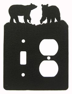 BLACK BEARS SINGLE LIGHT SWITCH & Outlet Plate Cover Inno... https://www.amazon.com/dp/B00488FVSG/ref=cm_sw_r_pi_dp_x_DvIiybA2ANFAH