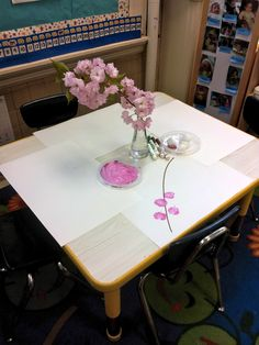 "Cherry blossoms provocation - from provocations and play ("",)"